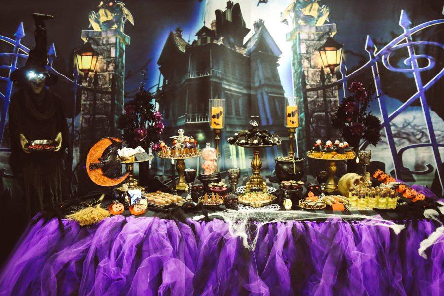 décorateur événementiel, décoration d'entreprise thématique halloween